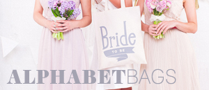 Alphabet Bags - simple and beautiful accessories and gifts