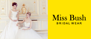Miss Bush Bridalwear, designer bridal boutique, London, Ripley, Surrey, UK